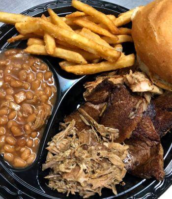 Fat Crabs Rib Company Corolla NC Restaurant, Southern Sampler