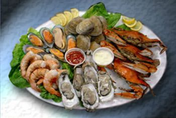 Fat Crabs Rib Company Corolla NC Restaurant, Steamed Sampler