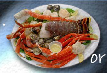Fat Crabs Rib Company Corolla NC, Coral Threefer